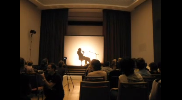 Aníbal López, Testimonio (Testimony), 2012. Screen shot of performance available on YouTube.