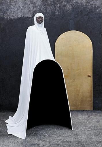 Gold Door, 2012, Lambda print