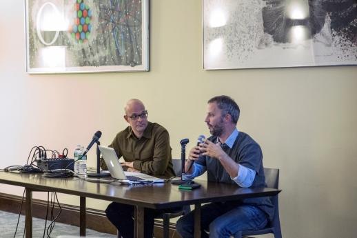 Panel discussion with Patricio del Real and Maurício Brandão