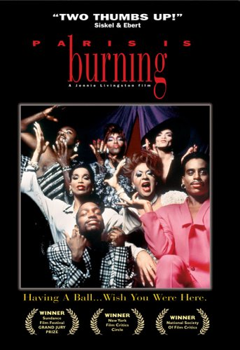 DVD cover, Paris is Burning, Miramax Home Entertainment, 2005