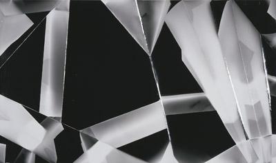 Fold (60°/120°/180°/240°/300°/360° directional light sources), June 30th, 2008, Annandale-On-Hudson, Foma Multigrade Fiber, 2008.