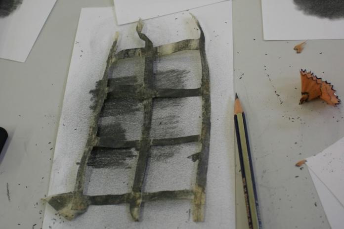 Fig. 7:  Preparing the test samples.